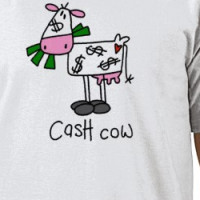 Cash Cow Tshirts and Gifts T-shirt