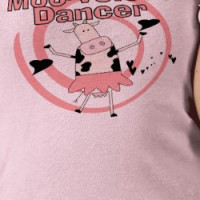 Cow Ballerina Tshirts and Gifts T-shirt
