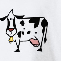 Cow Moo Cows Cattle Dairy Farm Animal T-shirt