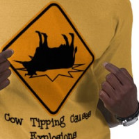 Cow Tipping T-Shirt T-shirt