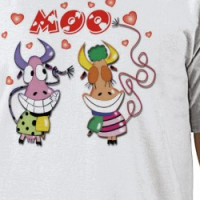 Cows In Love T-shirt