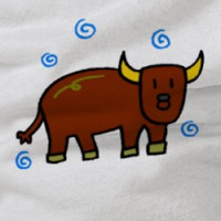 Cute Cow, Bull T-shirt