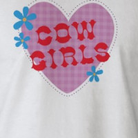 Disney Home on the Range Cow Girl design T-shirt