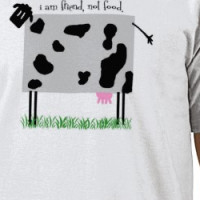 Grey Cow T-shirt