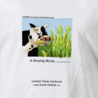 Hilarious Cow T-Shirt T-shirt