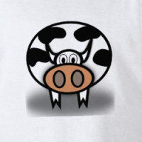 """Holy Cow!""  it's a cow t-shirt... T-shirt"