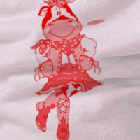 Red Cow Cowgirl T-shirt