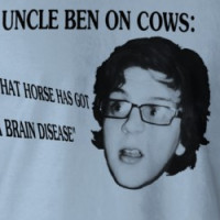 Uncle Ben on Cows T-shirt